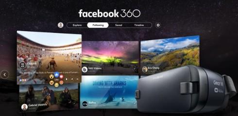Gear VR için Facebook 360`ın tanıtımı
